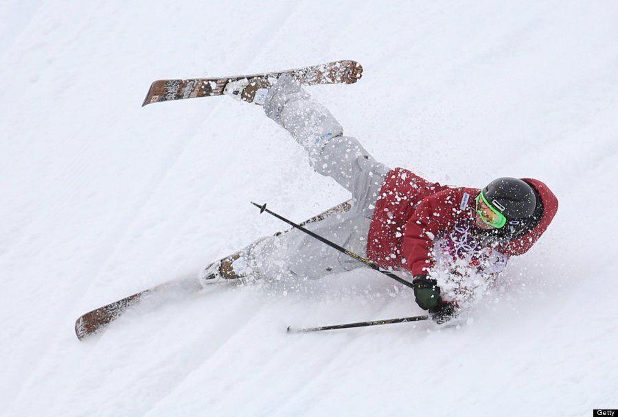 Sochi 2014: Winter Olympic Ski Crashes In