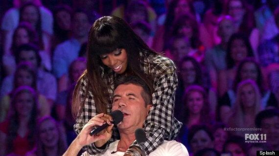 'X Factor USA': Simon Cowell Sings Elvis Presley Song For Kelly Rowland
