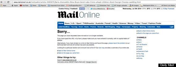 George Clooney Receives Rare Apology From Daily Mail Over Article Star Claimed Was 'Fabricated' & 'Incited