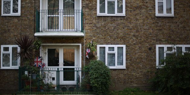 A council run flat seen here in Lambeth, south London,