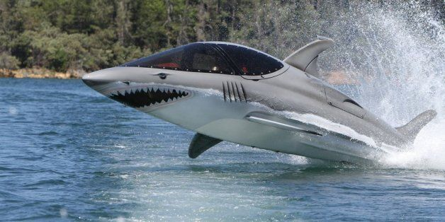 Seabreachers: These Incredible Speedboats Can Leap 10 Feet Into The Air (And Look Like