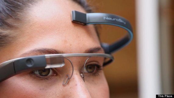 Control Google Glass With Just Your