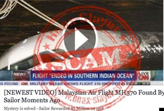 MH370: 'Missing Malaysia Airlines Plane Found By Sailor' Facebook Message Is A Nasty Survey