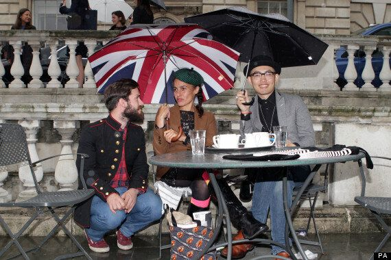 UK Weather: Wind And Rain To Stay For