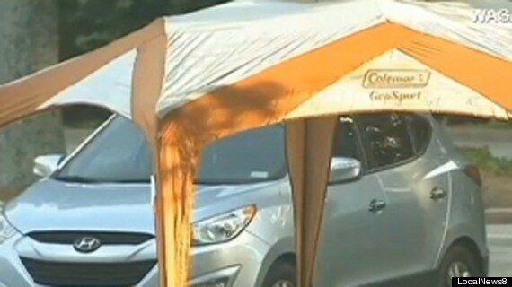 Car Bakes In Searing Atlanta Sun As Investigators Probe Temperatures That Led To Cooper Harris's Death
