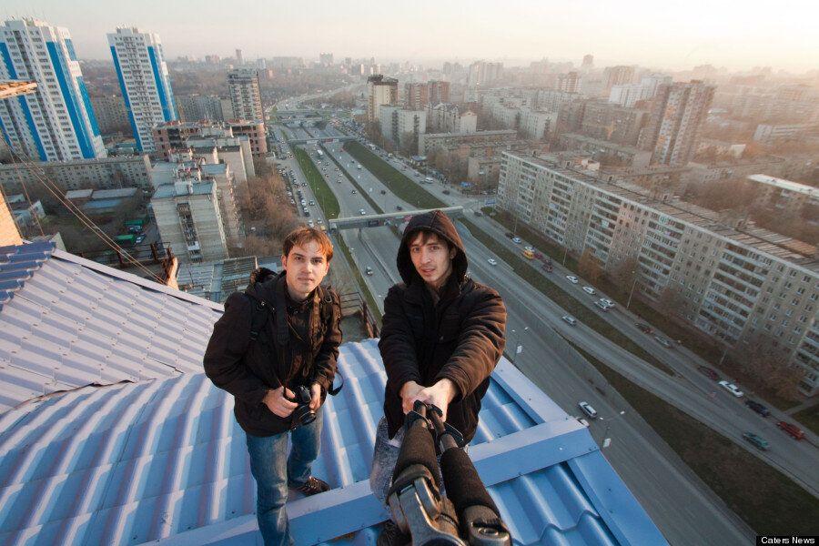 Urban Ninjas Scale Shanghai Tower, China's Tallest