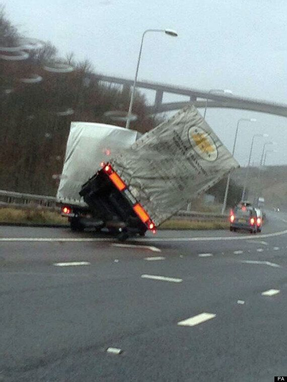 UK Weather: One Dead As 100mph Winds Lash Britain