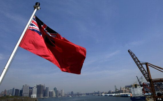 British Liner Told To Take Down Flag After Docking In