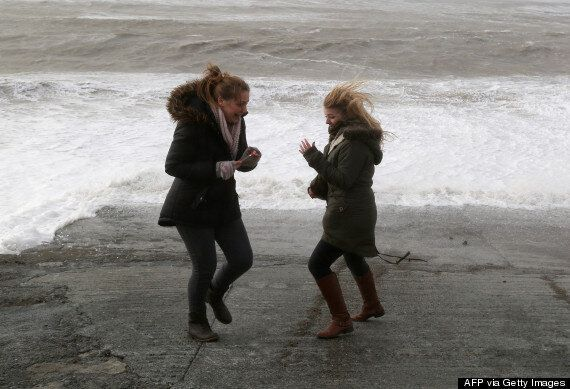 UK Storm: Savage Storms Leave Man Dead And Thousands Without