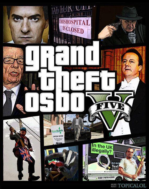 Grand Theft Auto V: George Osborne Edition