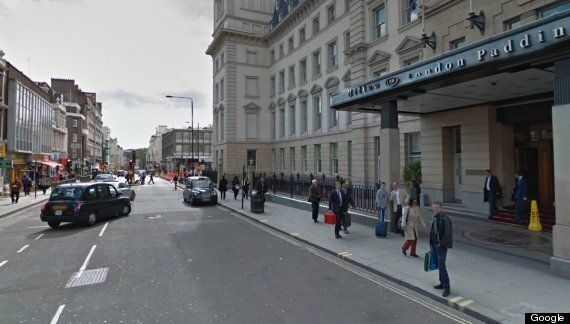 Jeremy Browne, Foreign Office Minister, Photographed By Google StreetView Near