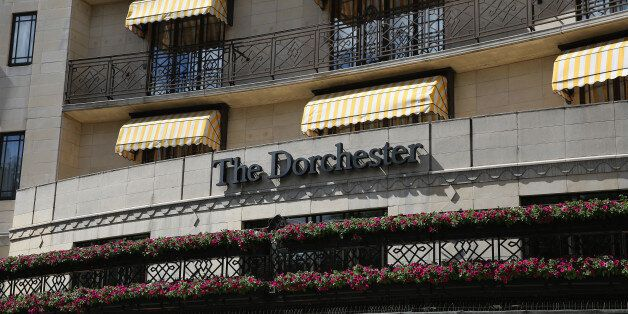 LONDON, ENGLAND - JUNE 10: A general view of the Dorchester Hotel on June 10, 2014 in London, England....