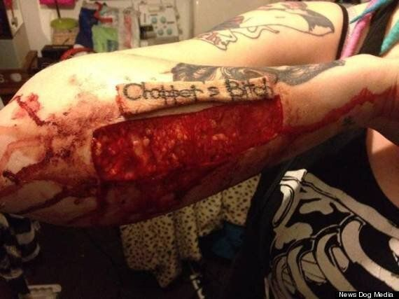 Torz Reynolds Removes Tattoo Of Ex Boyfriend's Name With Scalpel – Posts Him The Skin (GRAPHIC