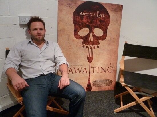 On the Set of 'Awaiting': The Hottest British Thriller of