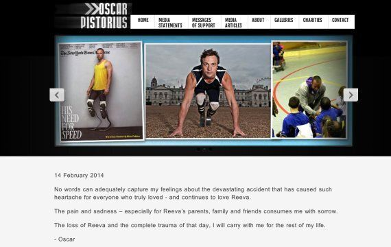 Oscar Pistorius 'Consumed With Sorrow' Over Reeva Steenkamp