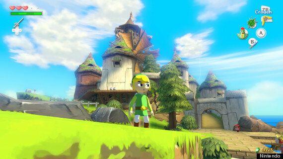 Legend Of Zelda: Wind Waker HD Review: Wii U Gets A Blast From The