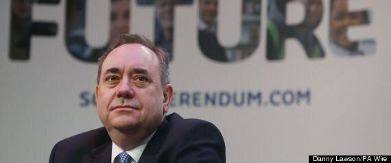 Alex Salmond Won't Give Up On The Pound For An Independent