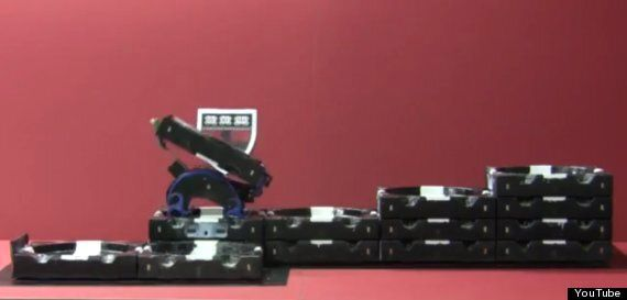 TERMES Robotic Construction Crew Can Self-Organise To Build