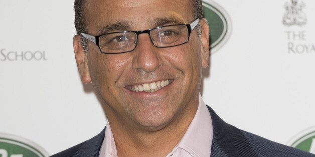 Theo Paphitis Arriving At The Royal Ballet School In London For The Launch Of The New Range Rover. (Photo...