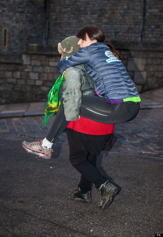 Davina McCall On Final Leg Of Sport Relief Challenge: 'I Don't Think I've Ever Cried This Much'