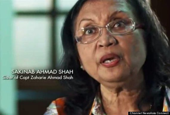 MH370: Sister Of Missing Malaysia Airlines Captain Zaharie Shah & Prime Suspect Breaks