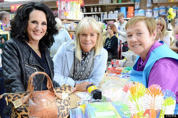 'Birds Of A Feather' Cast Lesley Joseph, Linda Robson And Pauline Quirke Reunited On Set