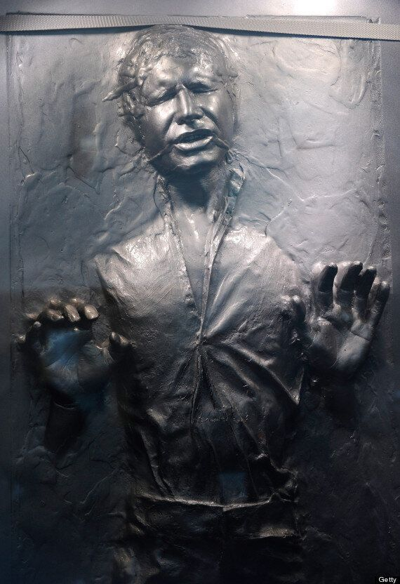 NASA Finds 'Han Solo Encased In Carbonite' On The Surface Of Mercury