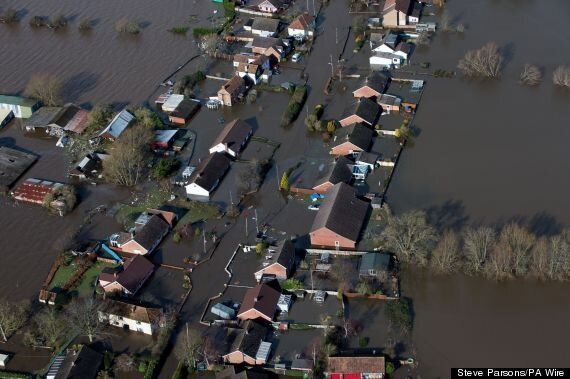 UK Floods: Two Dead As Storms Batter