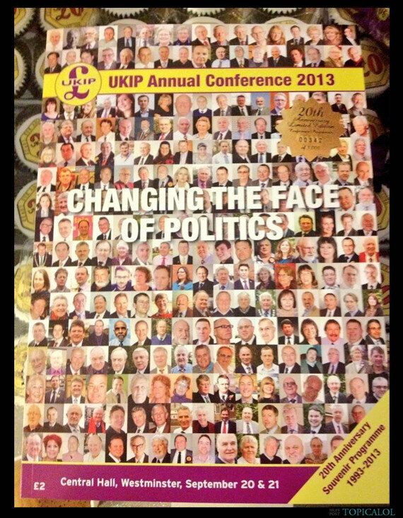 Ukip Conference Brochure: Can You Spot The Non-White Face?