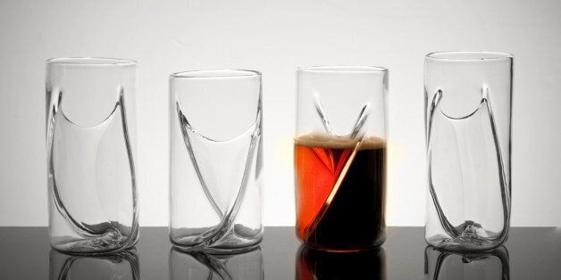 'Dual Beer Glass' Allows You To Drink Two Ales At Once