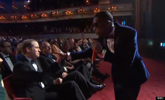 Baftas 2014: Tinie Tempah High-Fives Prince William, Poses With Brad Pitt And Angelina Jolie