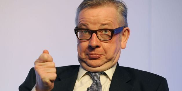 Education Secretary Michael Gove answers questions during the ASCL Annual Conference at the Hilton Metropole,