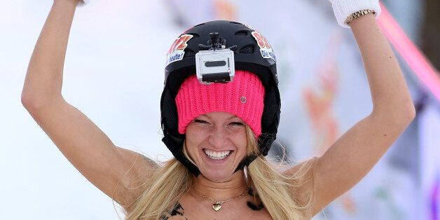 Naked Sledding World Championships In Pictures