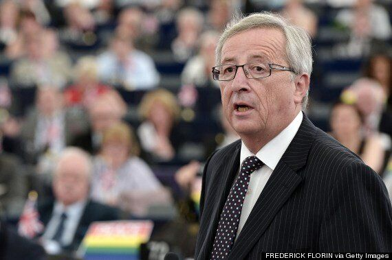 Ukip And Farage Give Blistering Heckle During Jean Claude Juncker