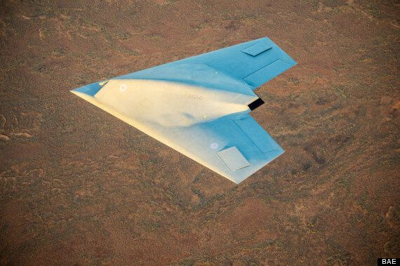 Taranis Stealth Drone Goes 'Invisible' During
