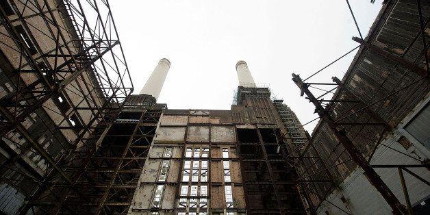 Inside Battersea Power