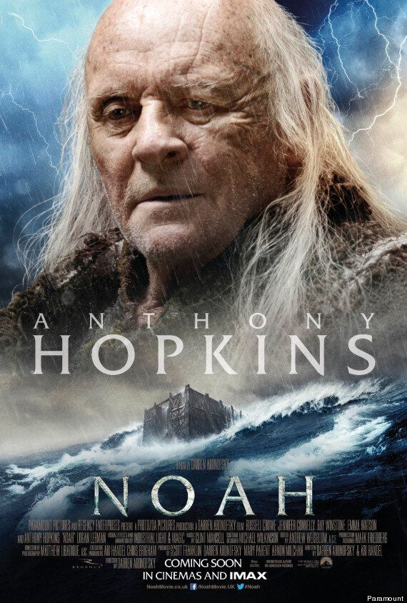 'Noah' Character Poster Shows Anthony Hopkins as Methuselah In Biblical Epic, Starring Russell Crowe
