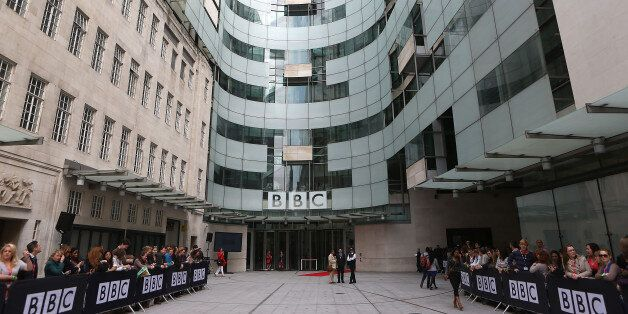 Broadcasting House, the headquarters of the broadcaster in
