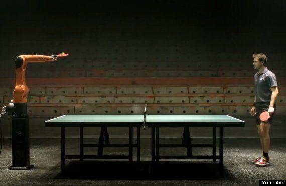 Table Tennis Playing Robot To Play Tim Boll, German Ping Pong