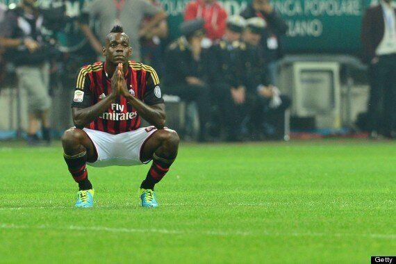 Mario Balotelli's First Ever Penalty Vs Napoli