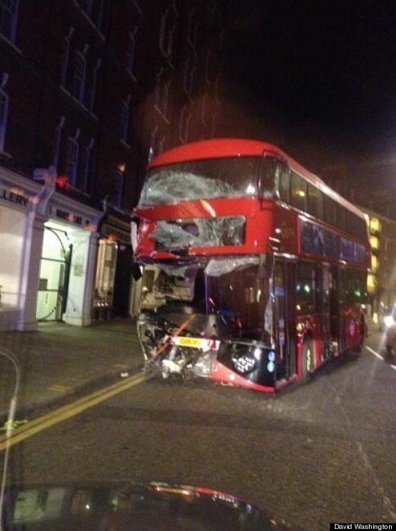 Routemaster Crashes In London: Boris Johnson's Flagship Bus Had Only Been In Service For One