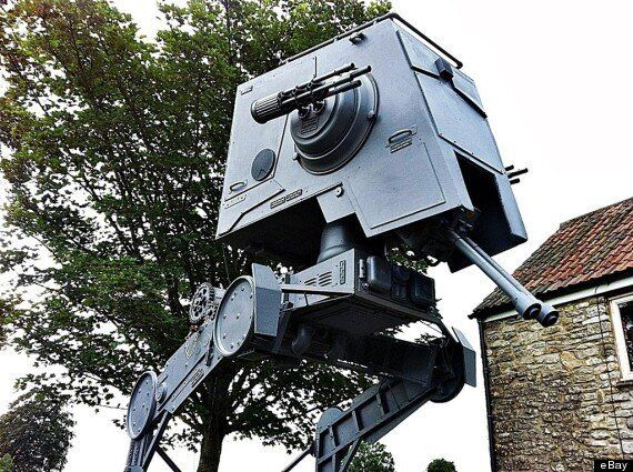 Star Wars At-At Walker For Sale On eBay For The Bargain Price of £9,8000 (So