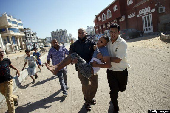 Israeli Shells Hit Group Of Children 'Playing Football On Gaza Beach', Four