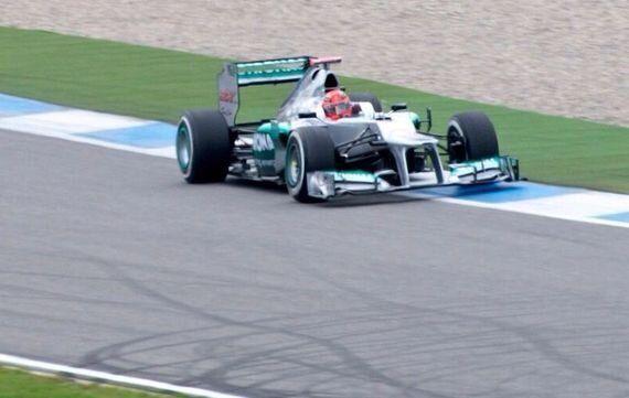 F1 in 2014... Half-Term
