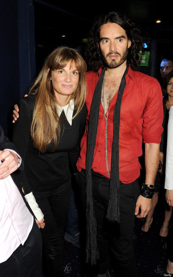 Russell Brand 'Banned' From Girlfriend Jemima Khan's Brother's