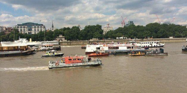 Thames Boat Crash Sparks Major Rescue Operation Near OXO