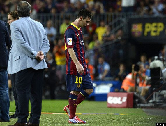 Lionel Messi Denies Row With Barcelona Coach Tata