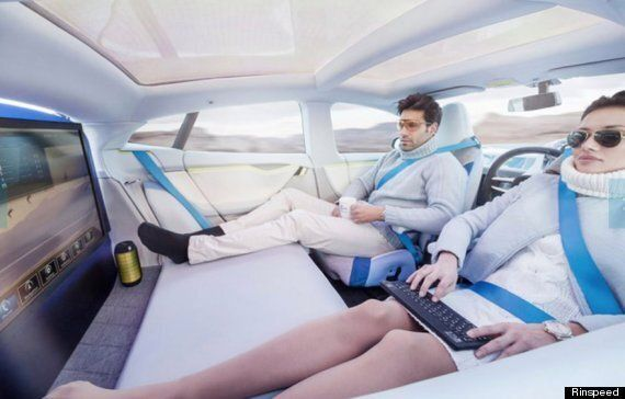 'Driverless Car' Concept Image Models Look Like They're About To Die, And Know