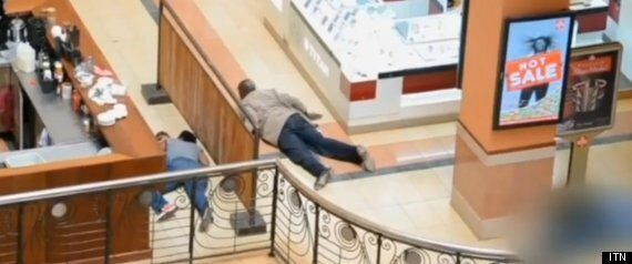 Nairobi Mall Footage Shows Dramatic Rescue Of Mother And Children By Heroic Policeman
