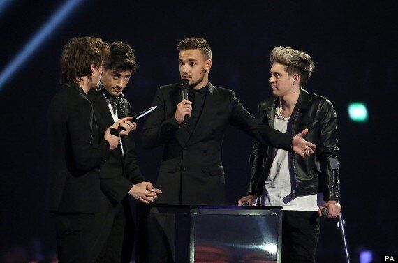 BRITS 2014: One Direction Win Global Success Brit Award While Harry Styles Was 'Having A